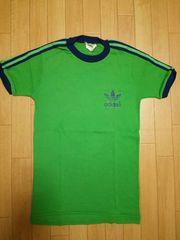 アイルランド製 adidas ヴィンテージ バクプリ リンガー Tシャツ