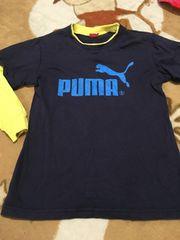 美品  PUMA ロンT 140