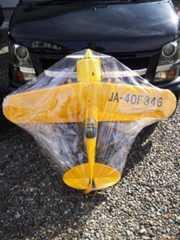 エンジンラジコン飛行機エンジン付き複葉機