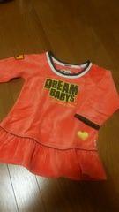 Dreambabys★ベロアチュニックワンピース★100