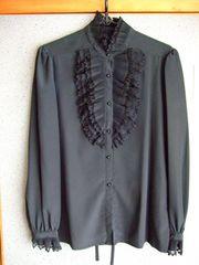 レディース ブラウス ブラック 喪服 礼服 美品