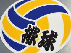 ▼バレーボール【排球】 ステッカー▼ 即買!かわいいシール★
