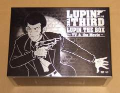 ルパン三世 LUPIN THE BOX TV & Movie DVD