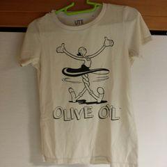 UNIQLO購入♪ポパイ◎オリーブTシャツ○新品未使用♪UT○Sサイズ