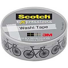海外製品Scotch 3M Washi TapeマスキングテープBikes自転車