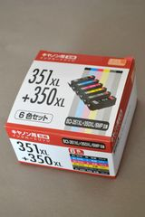 新品 キャノン インクカートリッジ BCI-351XL+350XL/6MP 互換