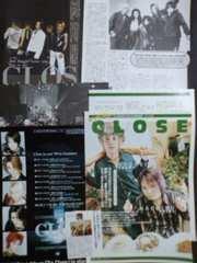 ◆CLOSE/雑誌切り抜き/8枚