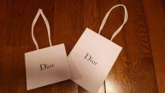 Dior ショップ袋2枚