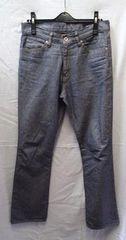 ◆UNIQLO ユニクロ/綿100% パンツ ブルーグレー/ウエスト69�p