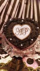 Angelic Pretty メルティ ケーキ チョコレート ミニハット