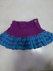 BABY DOLL 総柄スカート、90
