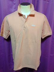 ポロシャツ ピンク L