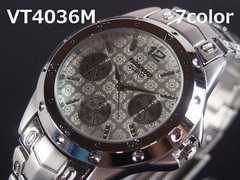 【最後1/送料無料】日本製ムーブVITAROSOメンズ腕時計