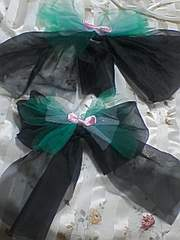 A61〓送込〓ママとペアの浴衣リボン飾り〓姫〓