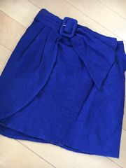 CECIL McBEEタイトスカート ブルー