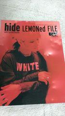 Hide with Spread Beaver lemoned file X JAPAN ヒデ uv