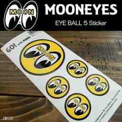 【送料無料】ムーンアイズ ステッカー MOONEYES/DM120