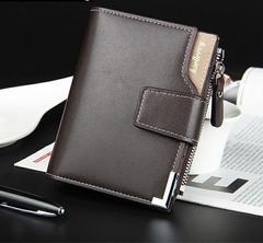 財布 二つ折り財布 レザー 札入れ 小銭入れ カード入れ ブラウン