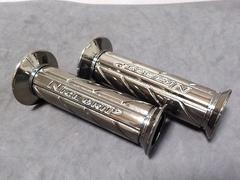 CBX400F ネオクロームグリップ 新品 GS400 Z250FT XJR400