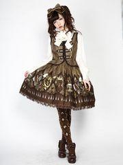 Angelic Pretty アンジェリックプリティ カルテット ショコラ サロペット スカート ワンピース