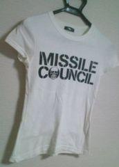 used 前後英字print*スカル*かっこいいTシャツ