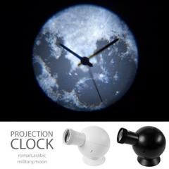 プロジェクター壁時計 オシャレ お店のインテリアにも素敵