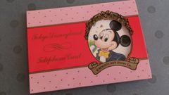 即決★新品★テレフォンカード50度数★ミッキーマウス