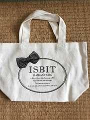 ISBIT 付録 ミニトートバッグ 美品