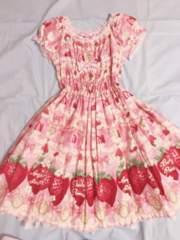 AngelicPrett Melty Berry Princess OP ピンク