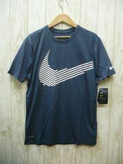 即決☆ナイキ特価スウォッシュTシャツ NV/XXL 3L 新品 半袖 ドライフィット