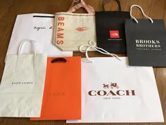coach united arrowsアニエス・ベーbeamsブランドshop紙袋