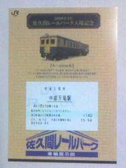 佐久間レールパーク入場記念09・4