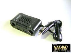 特価 DCDC デコデコ8A ソケットタイプ USB端子付 充電 ナビ
