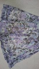 新品 ルスーク 花柄スカート