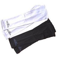★2点組★ アームカバー UV対策 紫外線 白/黒