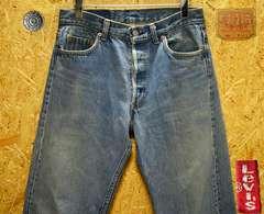 ◆廃盤◆米国91年製リーバイス501・W30(80cm)・股下84cm