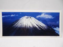 富士山 パノラマサイズ写真ポスター 南西斜面上空より