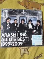 送込〓3枚組CD〓ARASHI 5×10 ALL the BEST! 1999−2009