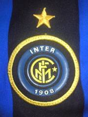 サッカー イタリア セリエA インテル ユニホーム 半袖 NIKE ナイキ Lサイズ ブルー ブラック