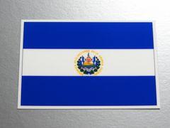 1■エルサルバドル国旗ステッカー1枚 シール ☆即買!■