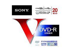 人気急上昇!SONY 録画用DVD-R 120分 16倍速