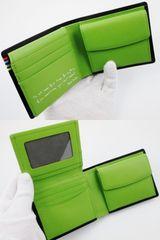 新品/箱付 ポールスミス コントラストインサイド 二つ折財布 茶