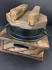 4931未使用 南部鉄器  鍋 一人鍋 ミニ