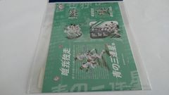 埼玉西武ライオンズ2018 青の三連星。ポスター柄A6ステッカーシール