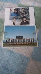 乃木坂46 ハルジオンが咲く頃ポストカード2枚セット