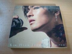 キム・ヒョンジュンCD「unlimited」SS501 DVD付初回限定盤A●