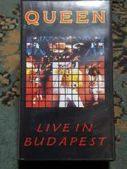 QUEEN(クイーン) VHS LIVE IN BUDAPEST