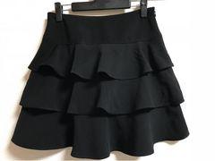 ★MISCH MASCH 黒×ティアードスカート  38★