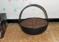 新品!鉄製ISHIGAKI 石狩囲炉裏鍋箱入り23cm