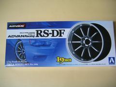 アオシマ 1/24 Sパーツ タイヤ&ホイール No.146 アドバンレーシングRS-DF 新品